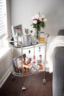 Wonderful Apartment Coffee Bar Cart Ideas 04
