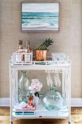 Wonderful Apartment Coffee Bar Cart Ideas 23