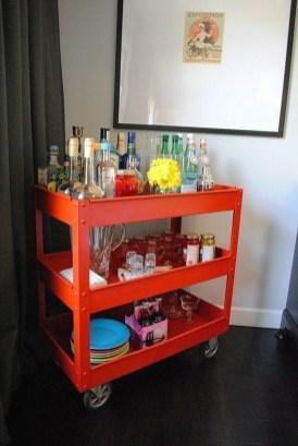 Wonderful Apartment Coffee Bar Cart Ideas 32