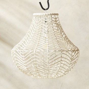 Adorable Hanging Lamp Designs Ideas From Rattan 39