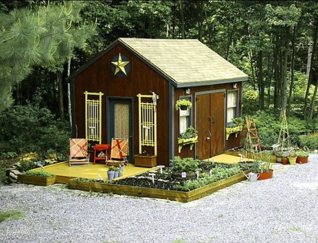 Cool Small Storage Shed Ideas For Garden 08