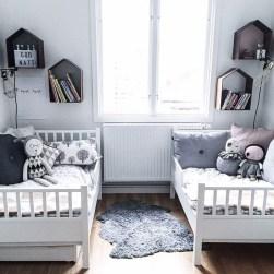 Inspiring Shared Kids Room Design Ideas 31