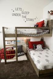 Inspiring Shared Kids Room Design Ideas 49