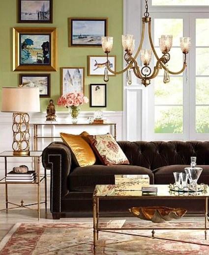 Popular Velvet Sofa Designs Ideas For Living Room 10