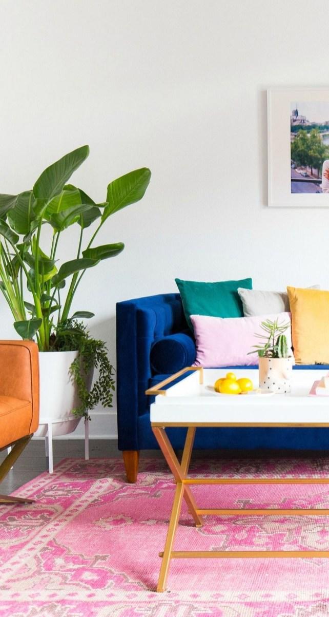 Popular Velvet Sofa Designs Ideas For Living Room 20