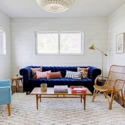 Popular Velvet Sofa Designs Ideas For Living Room 39