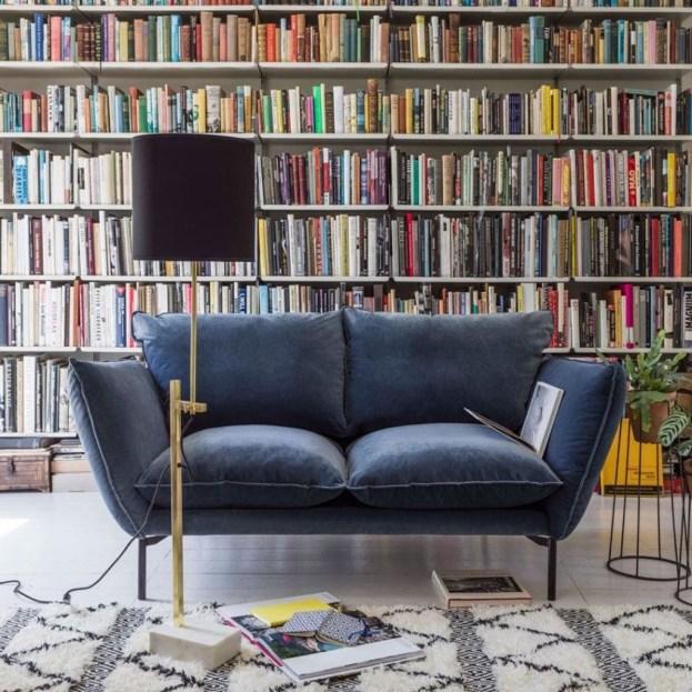Popular Velvet Sofa Designs Ideas For Living Room 51