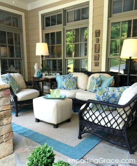 Comfy Porch Design Ideas For Backyard 04