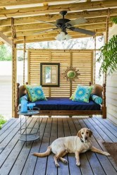 Comfy Porch Design Ideas For Backyard 27