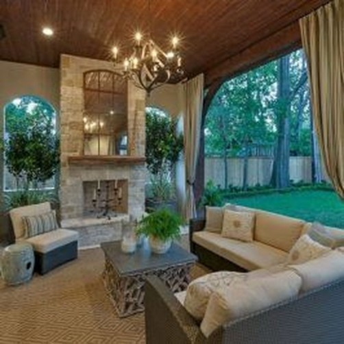 Comfy Porch Design Ideas For Backyard 42