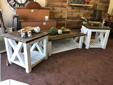 Cute Farmhouse Table Design Ideas Which Is Not Outdated 08