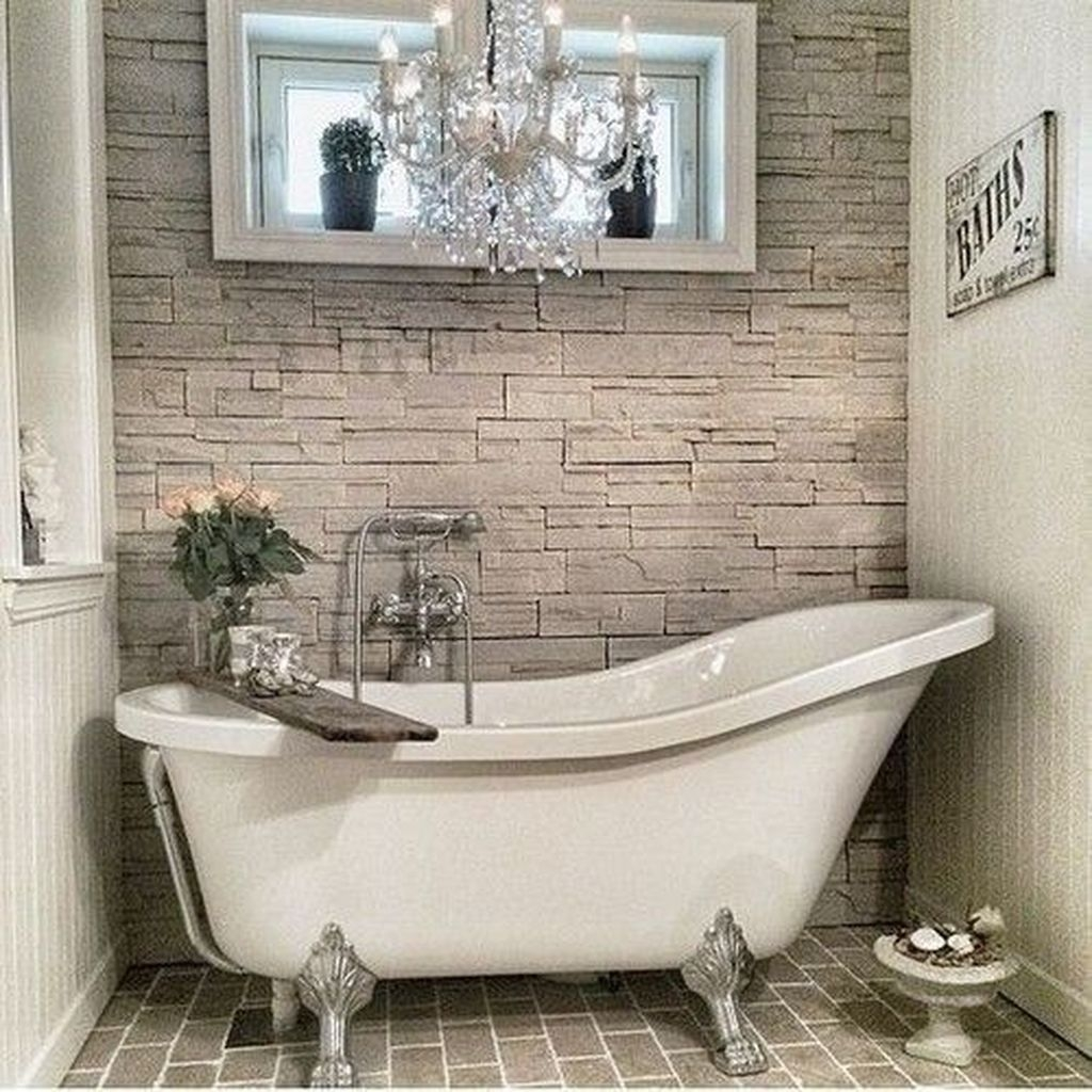 Elegant Bathtub Design Ideas 40