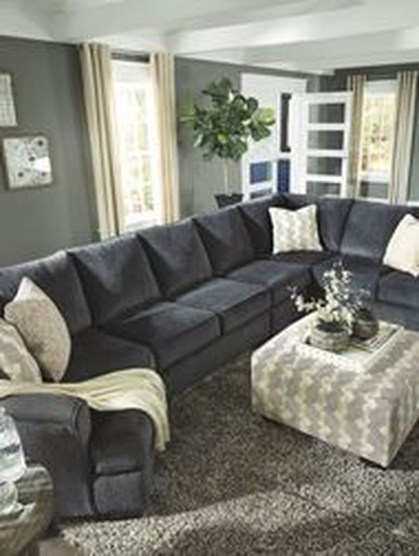 Enchanting Living Rooms Ideas With Combinations Of Grey Green 37