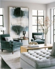 Enchanting Living Rooms Ideas With Combinations Of Grey Green 51
