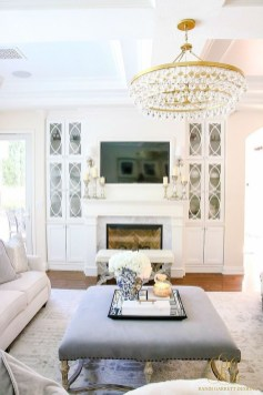 Fancy Living Room Decor Ideas With Ginger Jar Lamps 41