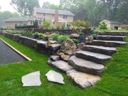 Gorgeous Front Yard Retaining Wall Ideas For Front House 05