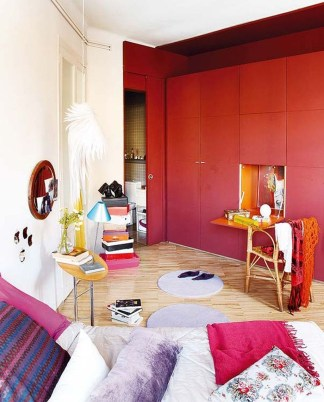 Modern Vibrant Rooms Reading Ideas 03