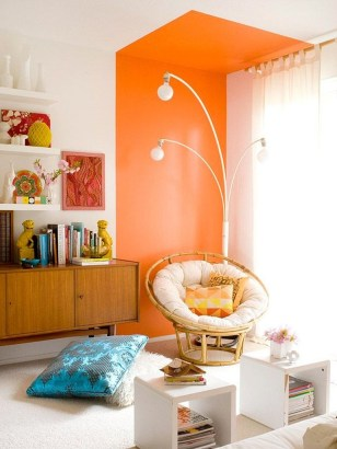 Modern Vibrant Rooms Reading Ideas 27