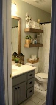 Popular Farmhouse Small Bathroom Decorating Ideas 41