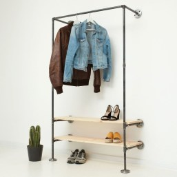 Stunning Clothes Rail Designs Ideas 19