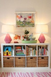 Cozy Bookcase Ideas For Kids Room 23