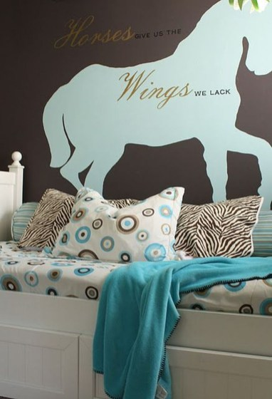 Cute Love Blue Ideas For Teenage Bedroom 06