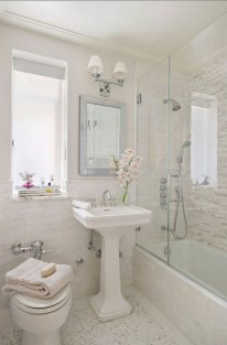 Inexpensive Small Bathroom Remodel Ideas On A Budget 22