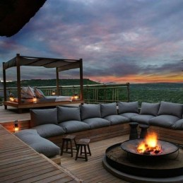 Stunning Roof Terrace Decorating Ideas That You Should Try 48
