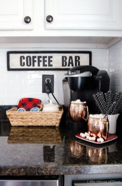 Affordable Diy Mini Coffee Bar Design Ideas For Home Right Now 08