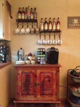 Affordable Diy Mini Coffee Bar Design Ideas For Home Right Now 09