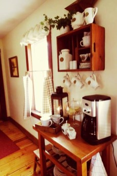 Affordable Diy Mini Coffee Bar Design Ideas For Home Right Now 34