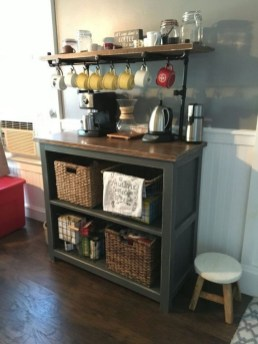 Affordable Diy Mini Coffee Bar Design Ideas For Home Right Now 35