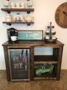 Affordable Diy Mini Coffee Bar Design Ideas For Home Right Now 40