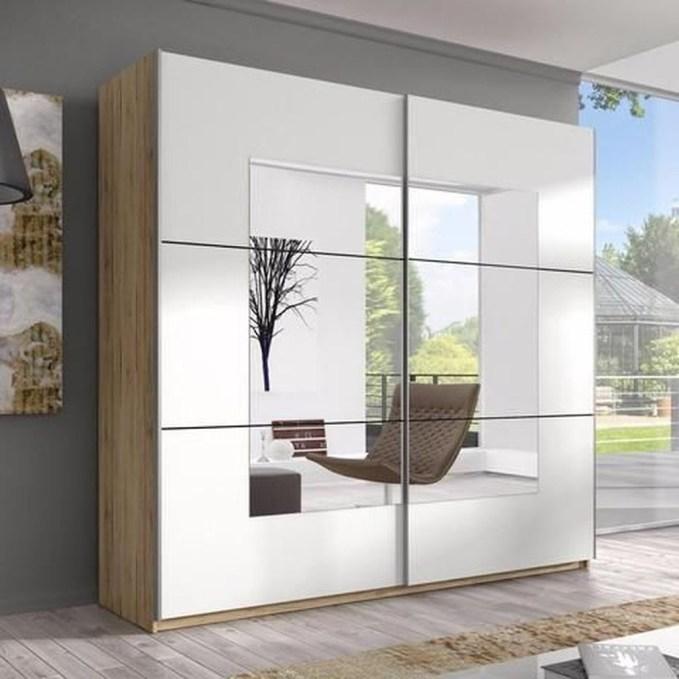 Amazing Sliding Door Wardrobe Design Ideas 13