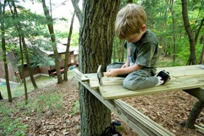 Captivating Treehouse Ideas For Children Playground 12