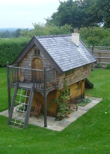 Captivating Treehouse Ideas For Children Playground 37