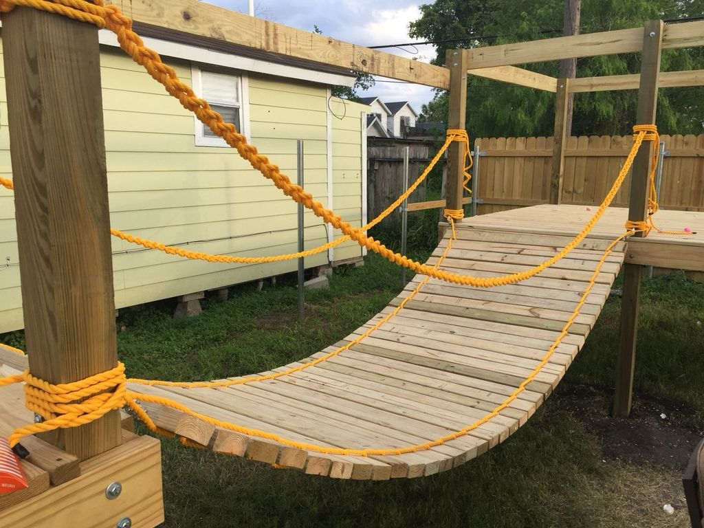 Captivating Treehouse Ideas For Children Playground 53