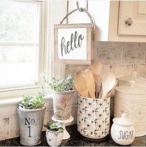 Enchanting Farmhouse Kitchen Decor Ideas To Try Nowaday 01