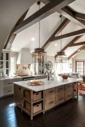 Enchanting Farmhouse Kitchen Decor Ideas To Try Nowaday 40
