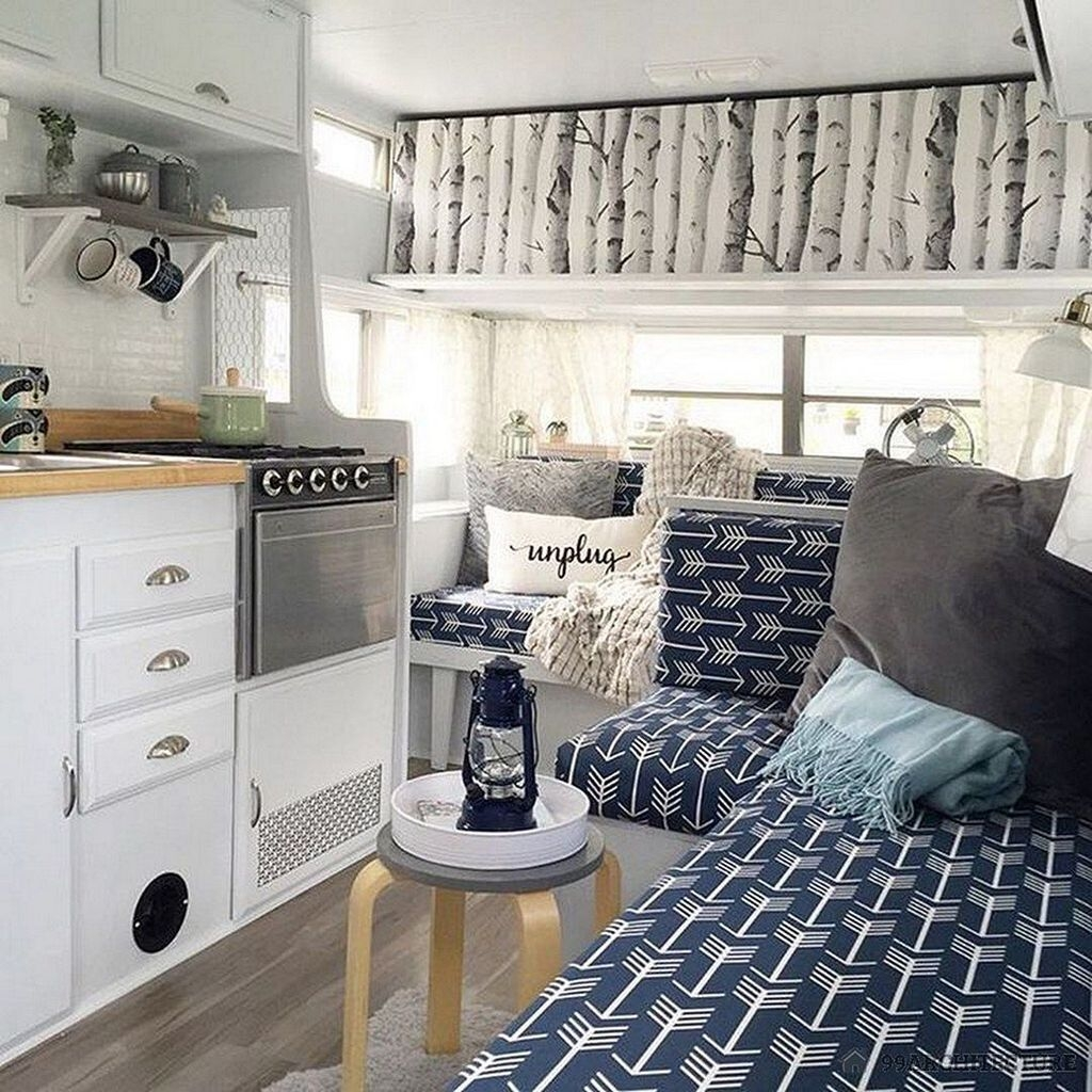 Extraordinary Interior Rv Living Ideas To Try Now 48