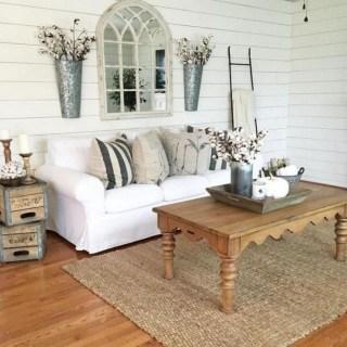 Fancy Farmhouse Living Room Decor Ideas To Try 53