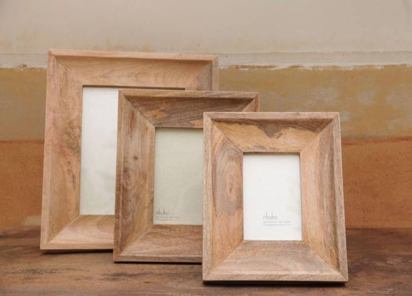 Fascinating Wood Photo Frame Ideas For Antique Home 21
