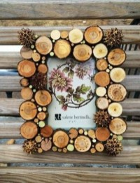 Fascinating Wood Photo Frame Ideas For Antique Home 27