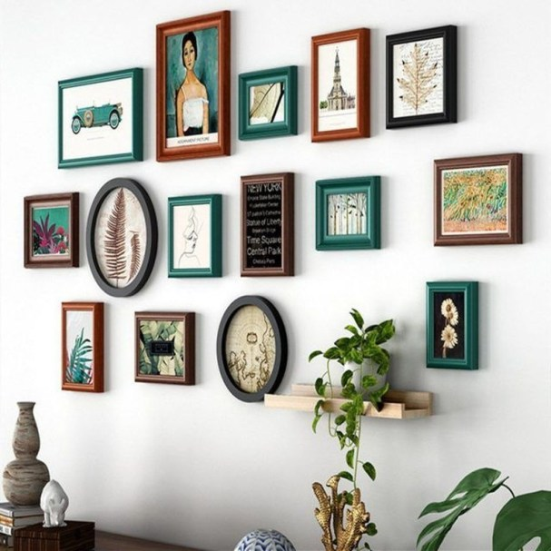 Fascinating Wood Photo Frame Ideas For Antique Home 30