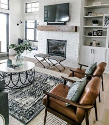 Hottest Farmhouse Living Room Decor Ideas That Looks Cool 39