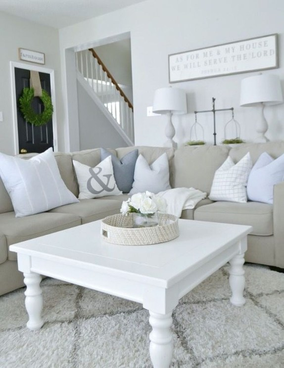 Hottest Farmhouse Living Room Decor Ideas That Looks Cool 46