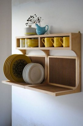 Perfect Storage Ideas For Your Apartment Decoration 54