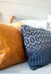 Rustic Pillows Decoration Ideas For Home 14