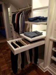 Simple Custom Closet Design Ideas For Your Home 19