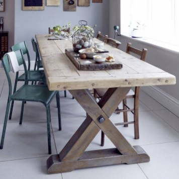 Trendy Dining Table Design Ideas That Looks Amazing 18
